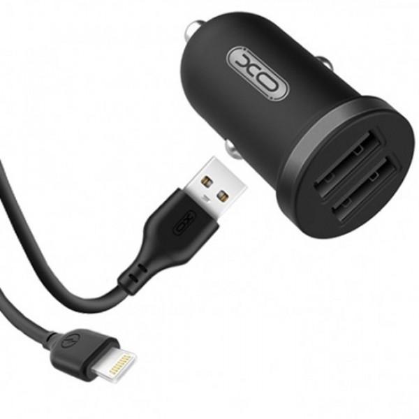 Incarcator auto rapid TZ-08 2.1A   cablu USB 100cm