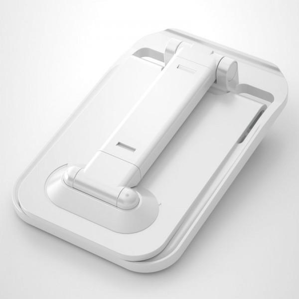 Suport telefon si tableta Dudao F5-XS, Telescopic, Ajustabil Si Pliabil, Alb