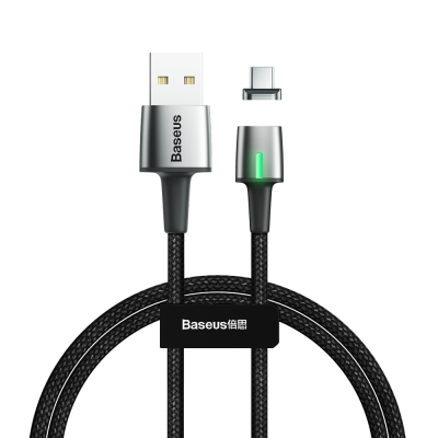 Cablu incarcare magnetic Baseus Zinc 2M USB