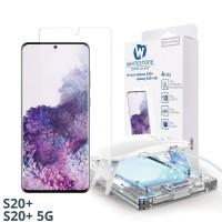 Folie Whitestone Dome Glass Samsung Galaxy S20+ Plus Clear