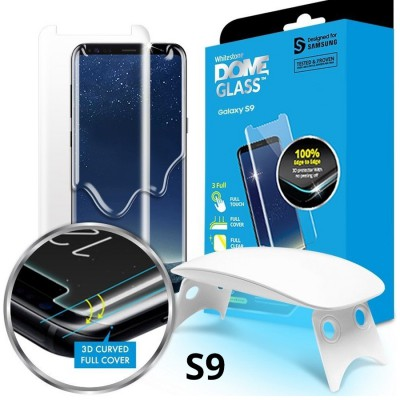 Folie Whitestone Dome Glass Samsung Galaxy S9 Clear