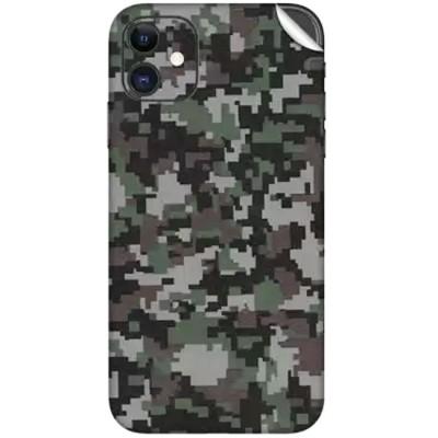 Sticker spate skin Military pentru iPhone