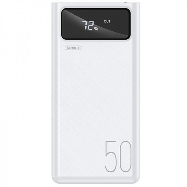 Baterie externa profesionala PowerBank 50000mAh, 4x USB, Afisaj, 2x Lanterna LED, 2.1A