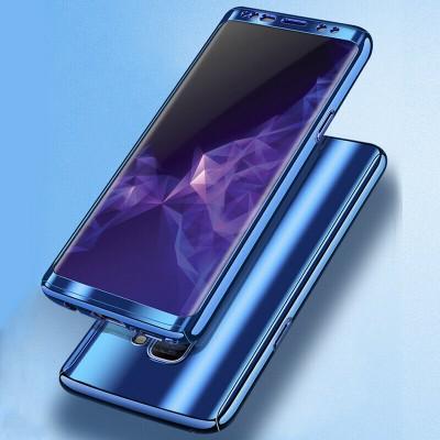 Husa blue gloxxy 360 cu folie Samsung Galaxy S8 Plus