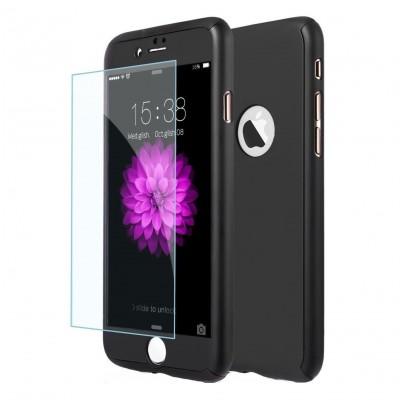 Husa 360 cu folie sticla iPhone 7 / iPhone 8