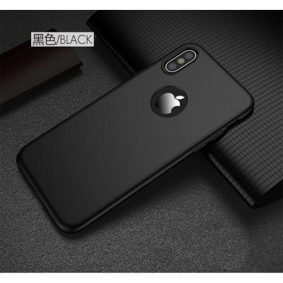 Husa 360 cu folie sticla iPhone X / XS