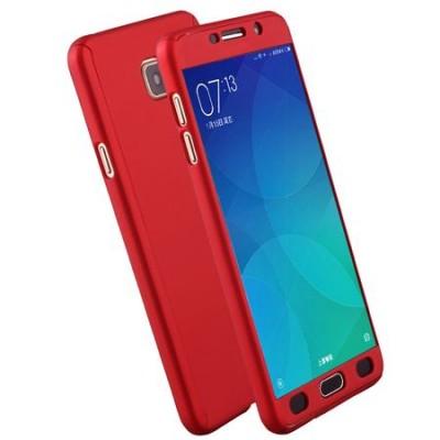 Husa 360 red cu folie sticla Samsung Galaxy J3 2016