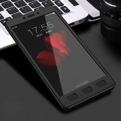 Husa 360 + folie sticla Xiaomi Redmi 5 Plus