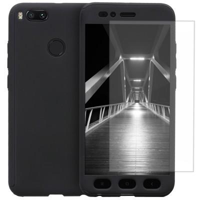 Husa 360 cu folie sticla Xiaomi Mi A1 / 5X