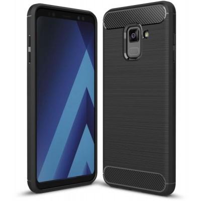Husa carbon Samsung Galaxy A6 2018