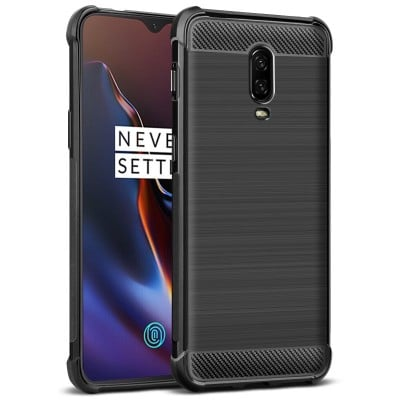 Husa carbon OnePlus 6T
