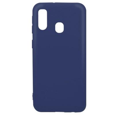 Husa silicon Silky Slim Blue Samsung Galaxy A40