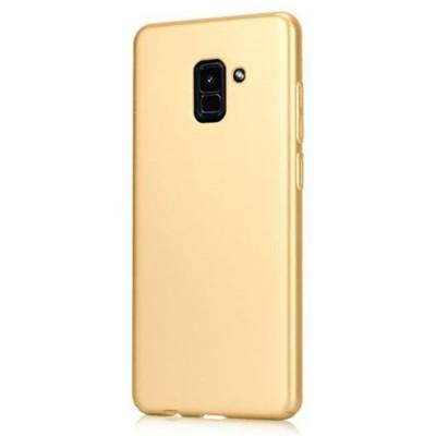 Carcasa spate slim gold Samsung Galaxy A8 2018