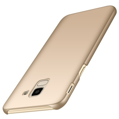 Carcasa spate slim gold Samsung Galaxy J6 2018