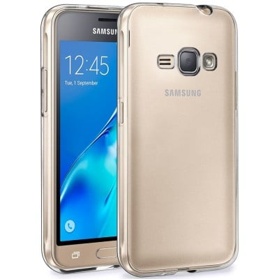 Husa silicon slim clear Samsung Galaxy J1 2016