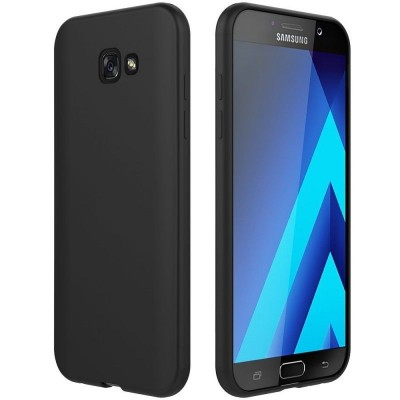 Husa silicon slim black Samsung Galaxy A5 2017