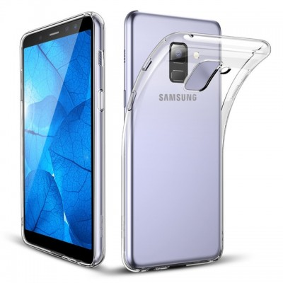 Husa silicon slim clear Samsung Galaxy A6 2018