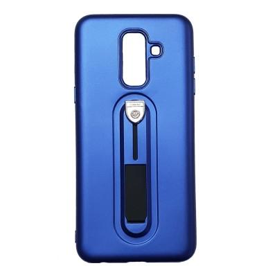 Husa cu suport blue Samsung Galaxy A6 Plus 2018