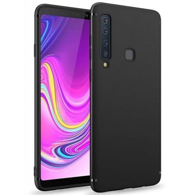 Husa silicon slim black Samsung Galaxy A9 2018