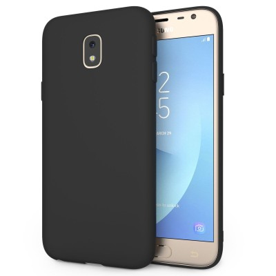 Husa silicon slim black Samsung Galaxy J3 2017 / J3 Pro