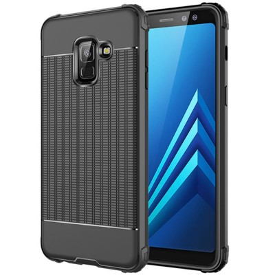 Husa silicon black antisoc Samsung Galaxy J6 Plus 2018