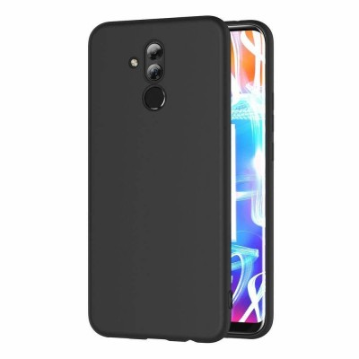 Husa silicon slim black Huawei Mate 20 Lite