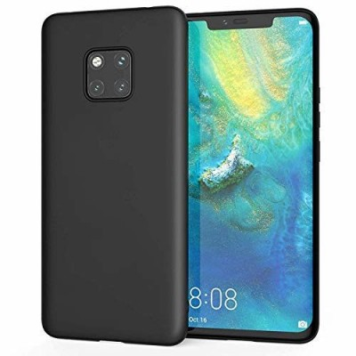 Husa silicon slim black Huawei Mate 20 Pro