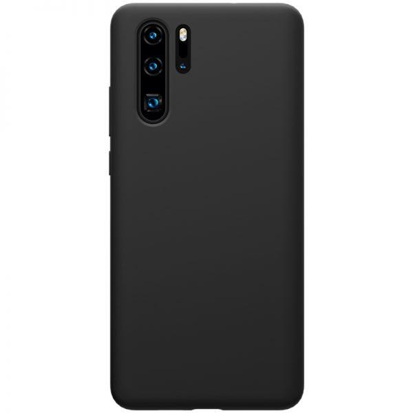 Husa silicon Silky Slim Lemontti Black Huawei P30 Pro