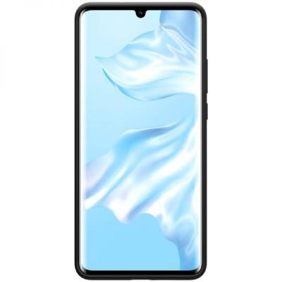 Husa silicon silky slim black Huawei P30 Pro