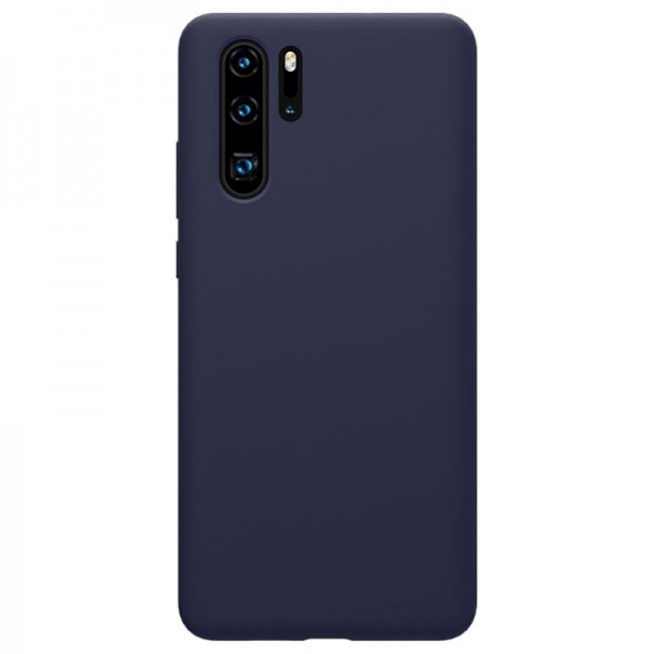 Husa silicon silky slim blue Huawei P30 Pro
