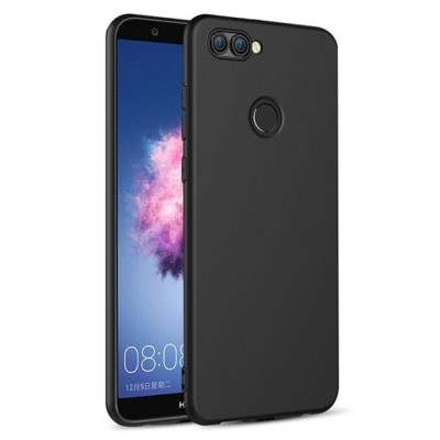 Husa silicon slim black Huawei P Smart 2019