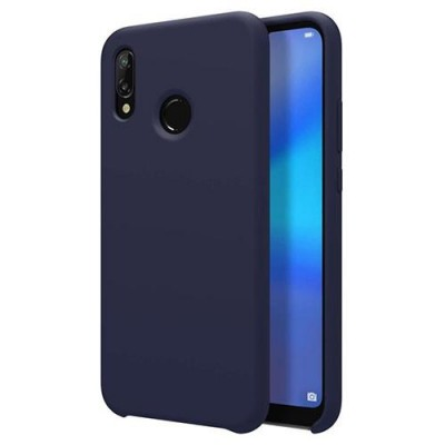 Husa silicon slim blue Huawei P Smart 2019