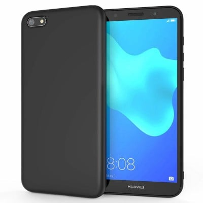 Husa silicon slim black Huawei Y5 2018