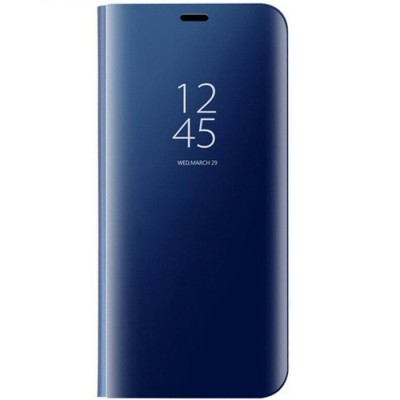 Husa flip view Samsung Galaxy A6 2018 Blue