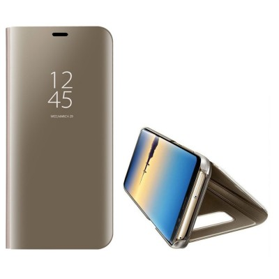 Husa flip view Samsung Galaxy S10e Gold
