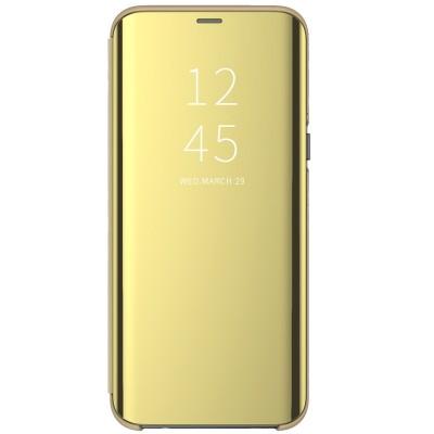 Husa flip view Huawei P30 Gold