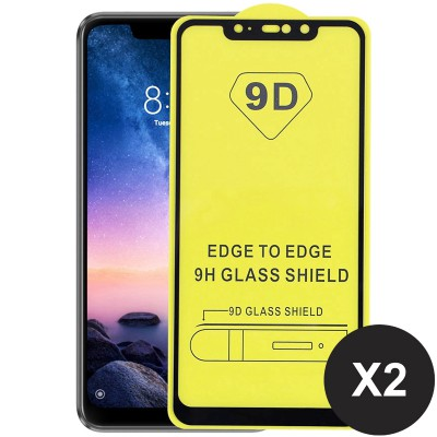 Folie sticla tempered glass nytroGel Xiaomi Redmi Note 6 Pro Full Glue 9D Black