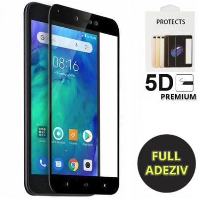 Folie sticla tempered glass nytroGel Xiaomi Redmi Go Full Glue 5D Black