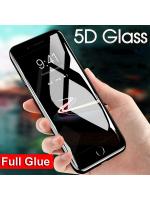 Folie sticla 5D Full Adeziv pentru iPhone 6 / 6s, Black