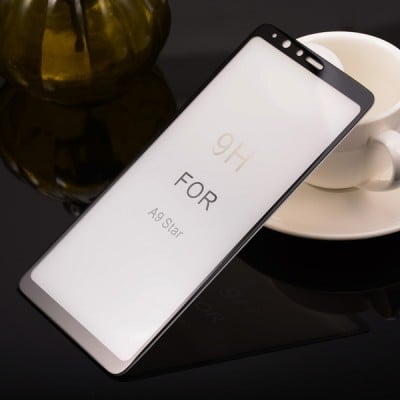 Folie sticla full glue black pentru Samsung Galaxy A9 2018 / A9 Star Pro
