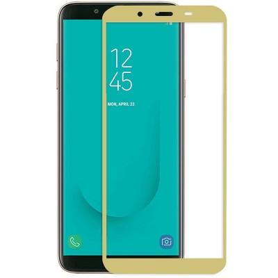Folie sticla full glue gold pentru Samsung Galaxy A6 2018