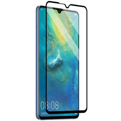 Folie sticla full glue black pentru Huawei Mate 20 X