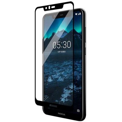 Folie sticla full glue black pentru Nokia 5.1 (2018)