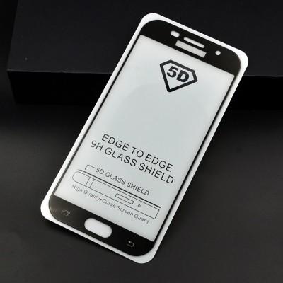 Folie sticla full glue black pentru Samsung A5 2017