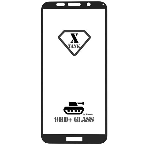 Folie sticla 5D Full pentru Huawei Y5 (2018) / Y5 Prime (2018), Black