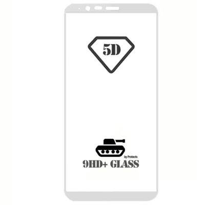 Folie sticla full glue white pentru Oneplus 5