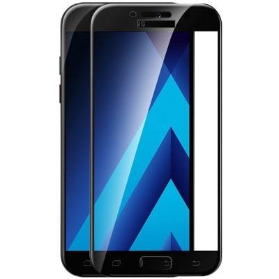 Folie sticla full glue black pentru Samsung Galaxy A3 2017