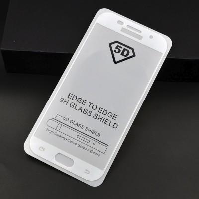 Folie sticla full glue white pentru Samsung Galaxy A3 2017