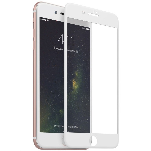 Folie sticla white 5D iPhone 6 Plus / iPhone 6s Plus
