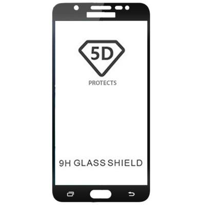 Folie sticla full glue black pentru Samsung Galaxy J7 Max
